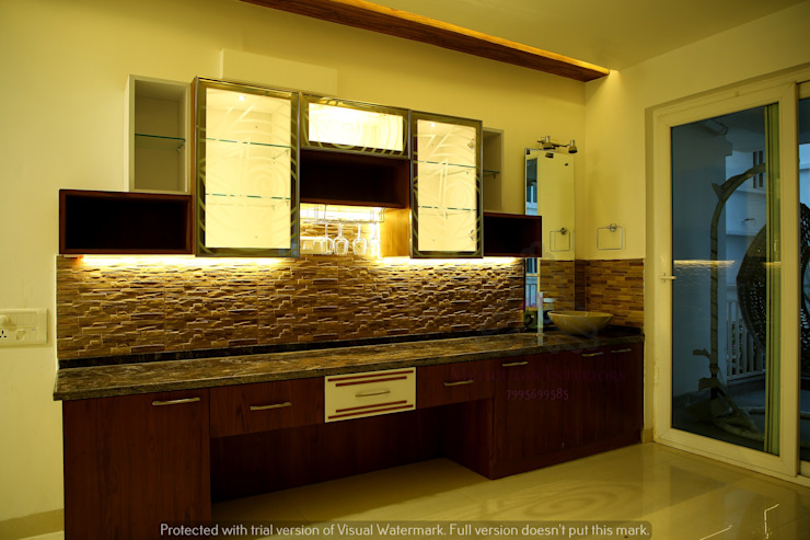Project 1 Modern kitchen by Meticular Interiors LLP Modern