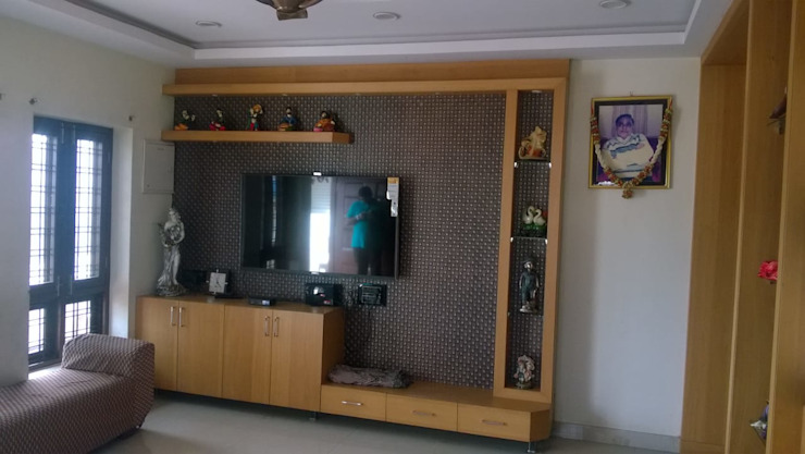 Project 2 Modern living room by Meticular Interiors LLP Modern