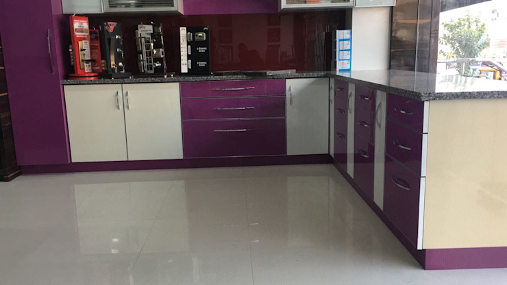 Project 2 Modern kitchen by Meticular Interiors LLP Modern