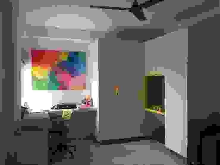 Project 3 Modern nursery/kids room by Meticular Interiors LLP Modern