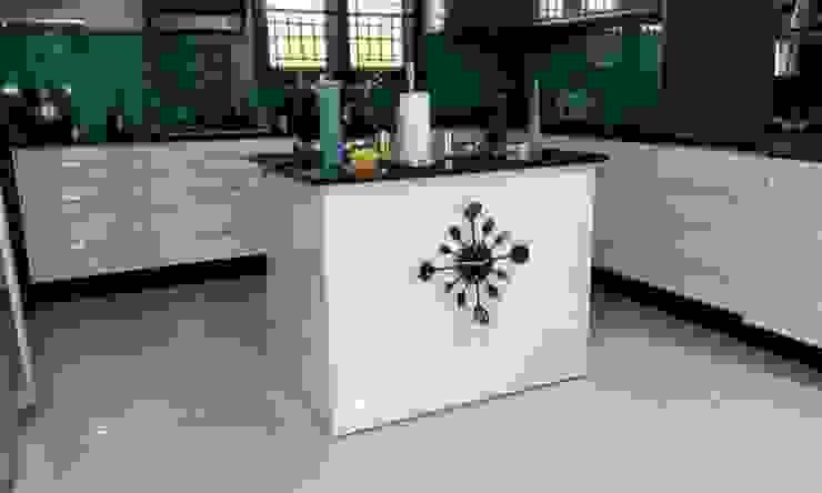 Project 3 Modern kitchen by Meticular Interiors LLP Modern