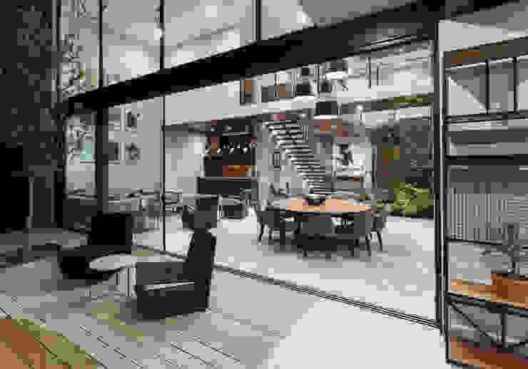 Loyola Arquitectos Balcone, Veranda & Terrazza in stile moderno