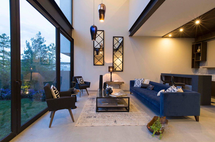 Loyola Arquitectos Moderne Wohnzimmer