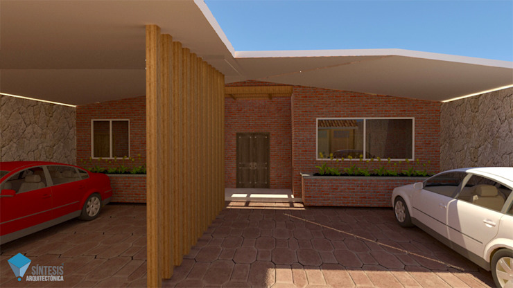 Síntesis Arquitectónica ® Colonial style house