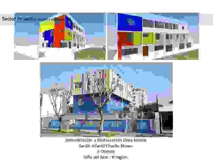 Remodelaciones y Ampliación Jardín Infantil:  de estilo  por LZ Consultores SpA