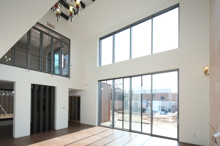 인문학적인집짓기 Modern Living Room