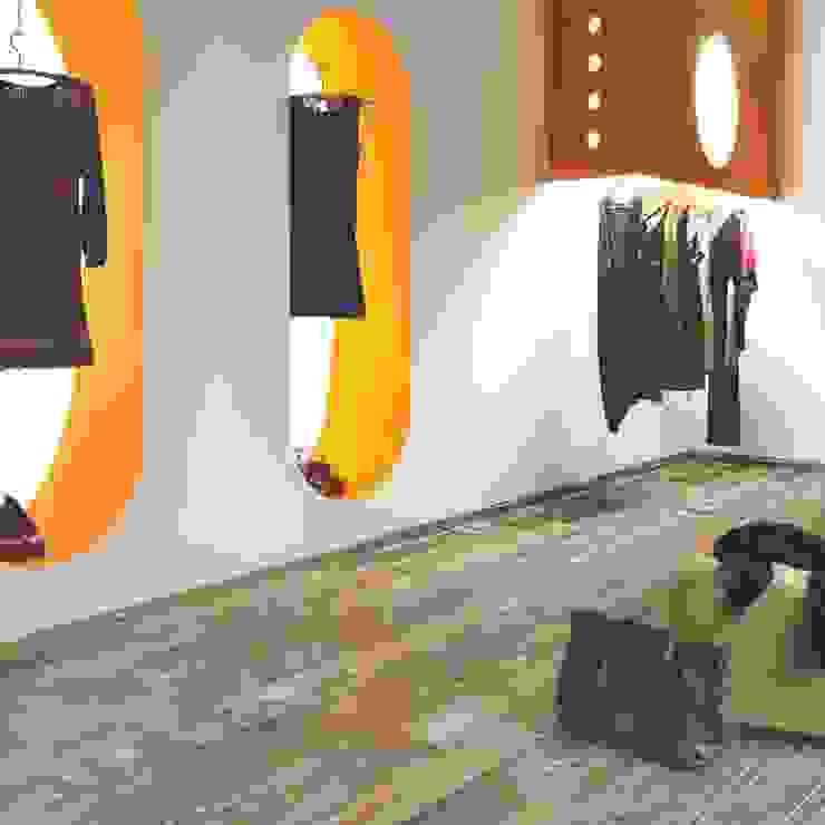 Planchers de style  par WEBTILES CERAMICHE, Éclectique Céramique