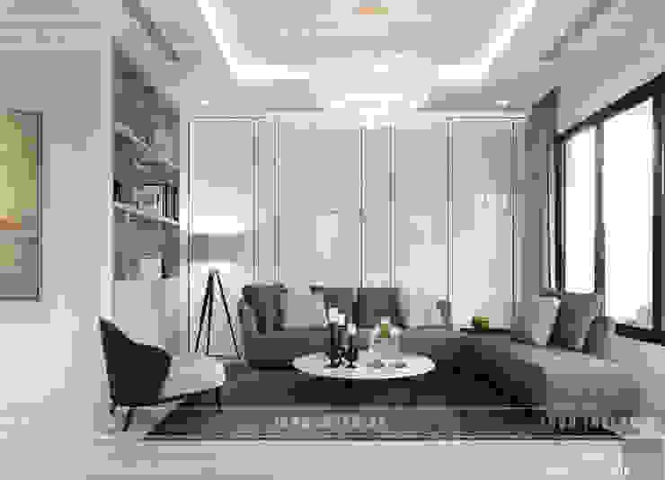 Thiết kế nội thất biệt thự Nine South – Tinh tế đến từng chi tiết nhỏ! bởi ICON INTERIOR Hiện đại