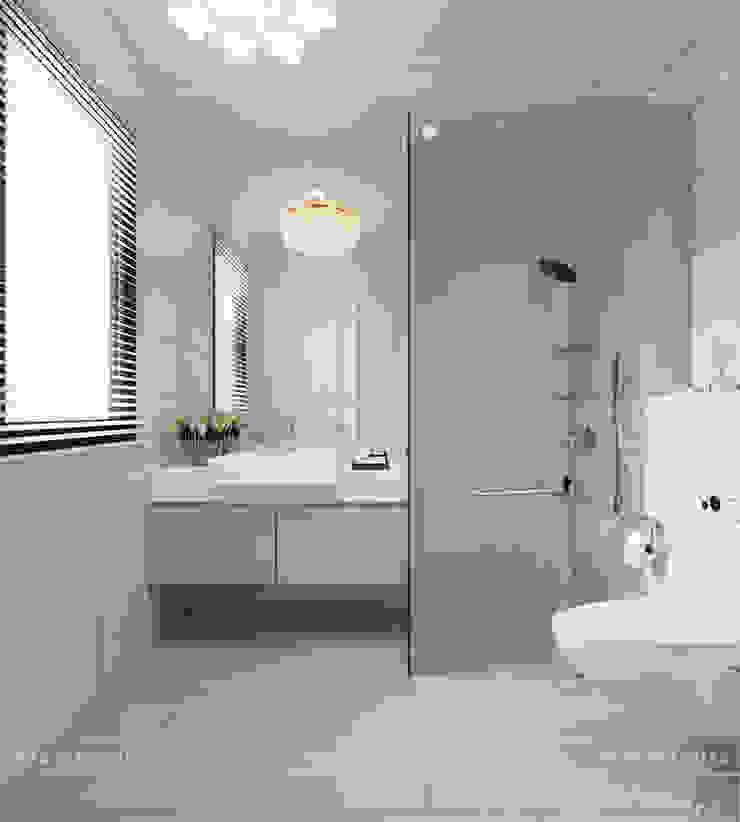 Thiết kế nội thất biệt thự Nine South – Tinh tế đến từng chi tiết nhỏ! Phòng tắm phong cách hiện đại bởi ICON INTERIOR Hiện đại