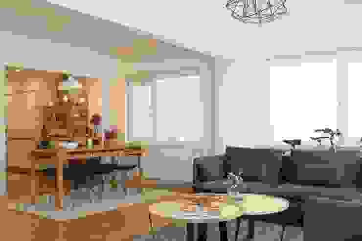 Stereo Mimarlık Atölyesi – Modern/8:  tarz Oturma Odası, Modern