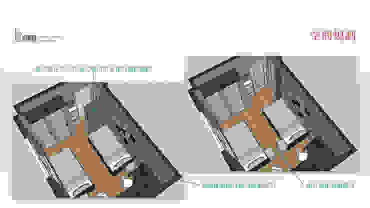 3D模擬圖面: 現代  by 以恩設計, 現代風
