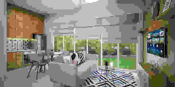 Livingroom Oleh Vivame Design