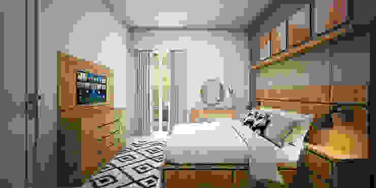 Kamar Utama Oleh Vivame Design