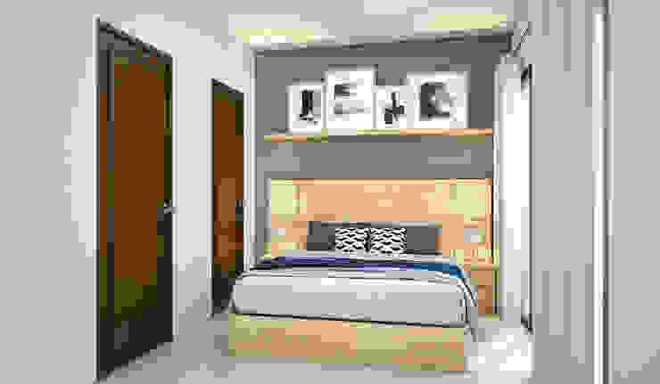 Kamar Tidur Atas Oleh Vivame Design