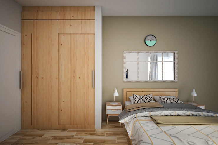Kamar Tidur Tamu Oleh Vivame Design