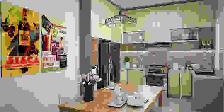 Dapur dan Ruang Makan Oleh Vivame Design