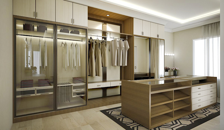 Walking Closet Oleh Vivame Design