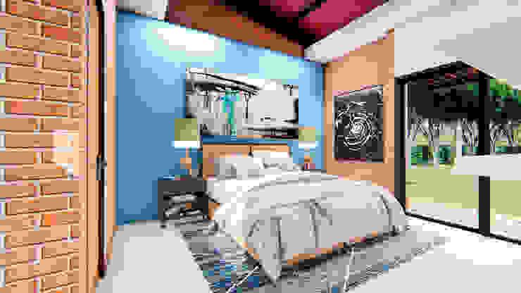 Bedroom by Conceptual Studio ARQUITECTUR,