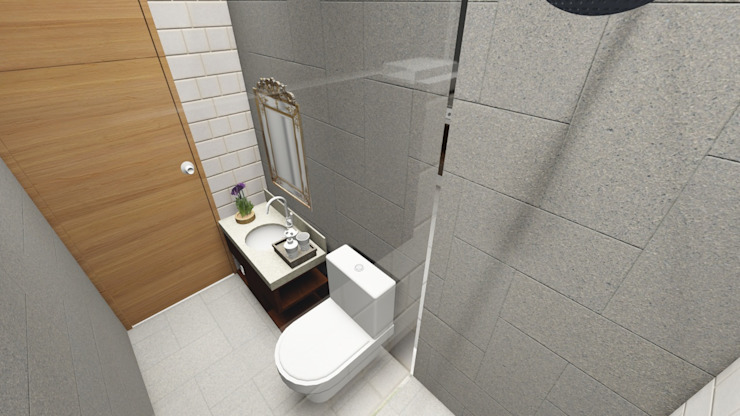 Modern bathroom by homify Modern Ceramic