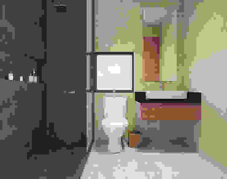 Baño Taller Veinte Baños minimalistas
