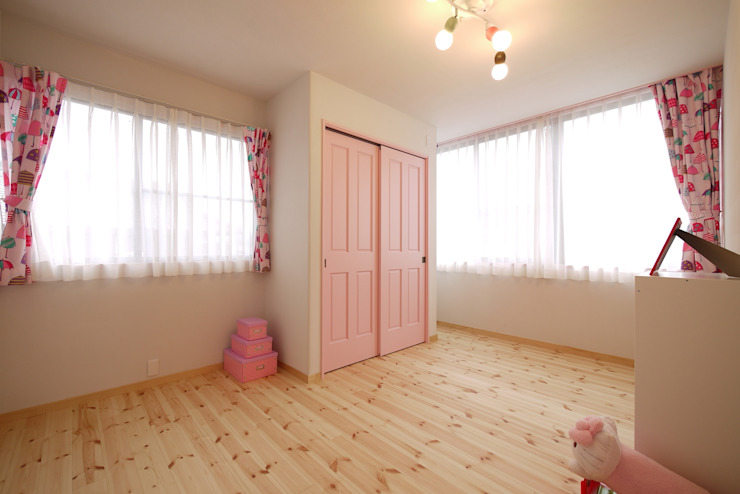 Nursery/kid's room by みゆう設計室, Scandinavian
