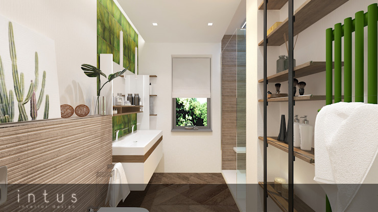 Modern Bathroom by INTUS DeSiGn Modern