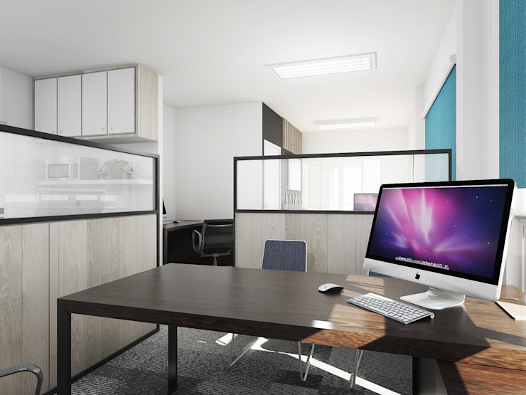 Airline Office by KC INTERIORS Modern