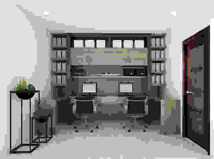 Admin Office by KCV INTERIORS Minimalist