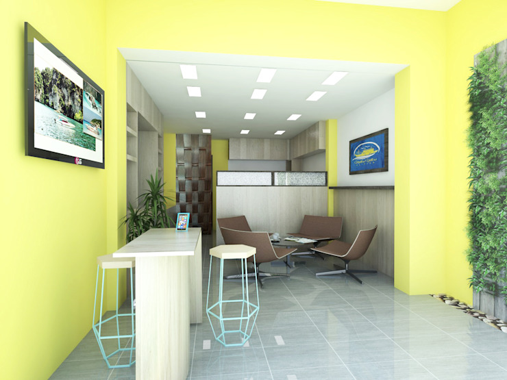 Travel Agency Office by KCV INTERIORS