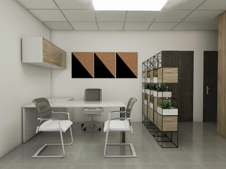 Company Office by KCV INTERIORS