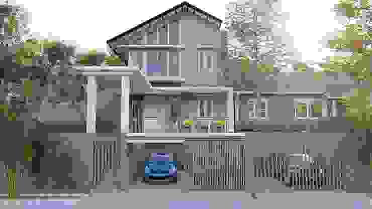 Rumah Puncak Oleh Desain dan Konstruksi