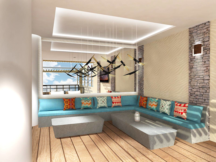 Hostel Project by KC INTERIORS