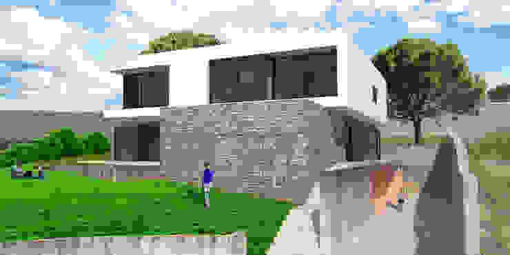 Villas by André Pintão, Modern Stone