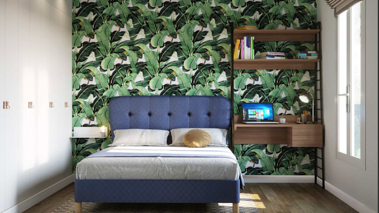 Habitaciones de estilo  por Isabel Gomez Interiors