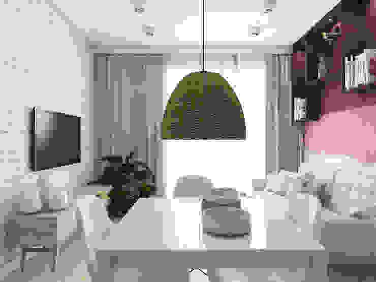 UTOO-Pracownia Architektury Wnętrz i Krajobrazu 客廳