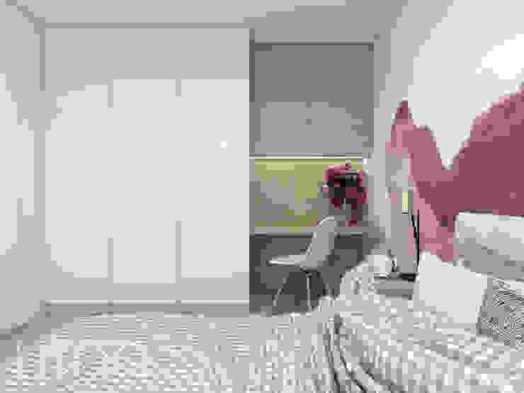 UTOO-Pracownia Architektury Wnętrz i Krajobrazu Scandinavian style bedroom