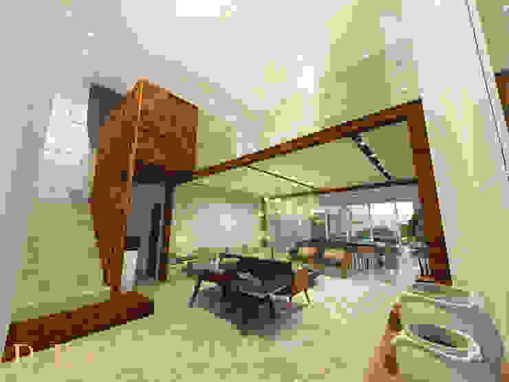 Sala de estar por DRG ARQUITETURA Moderno