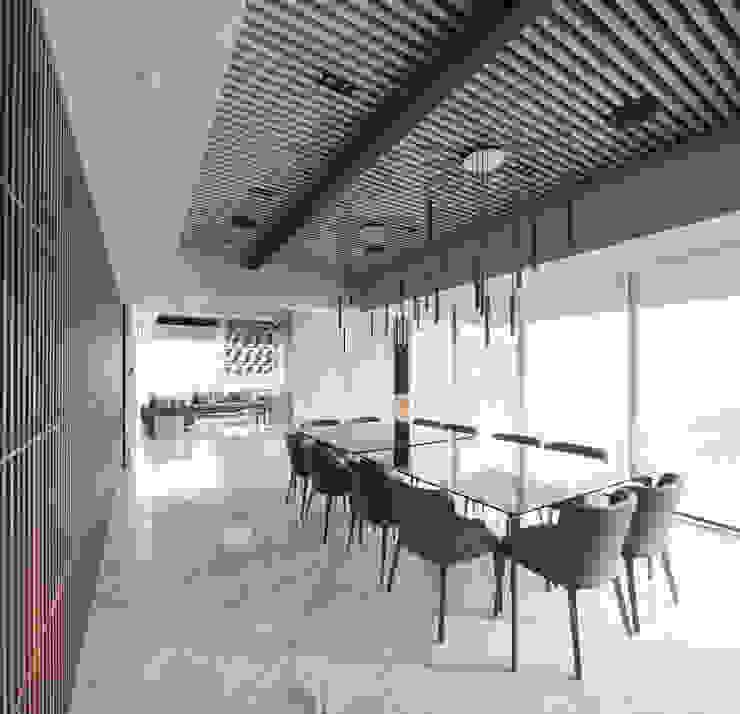 Departamento SS โดย Concepto Taller de Arquitectura โมเดิร์น