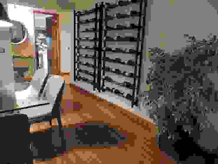 Industrial style living room by Kaa Interior | Arquitectura de Interior | Santiago Industrial Wood Wood effect