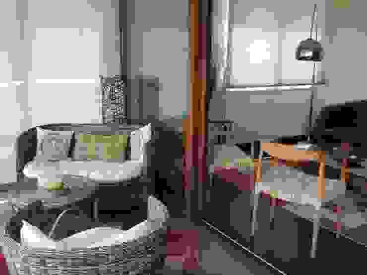 Terrraza Balcones y terrazas clásicos de Kaa Interior   Arquitectura de Interior   Santiago Clásico