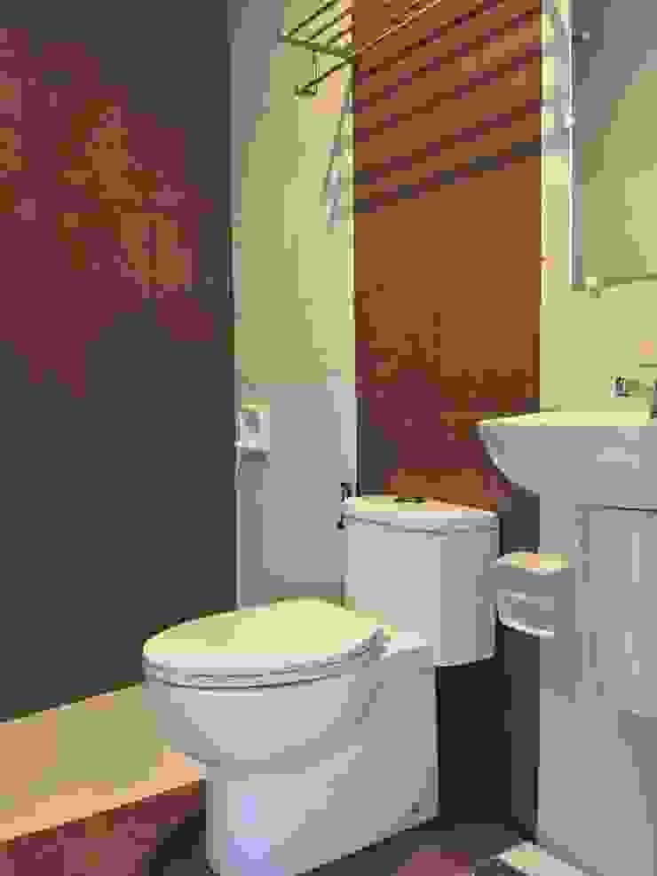 PRIVATE RESORT Minimalist style bathroom by JGA INTERIORS Minimalist