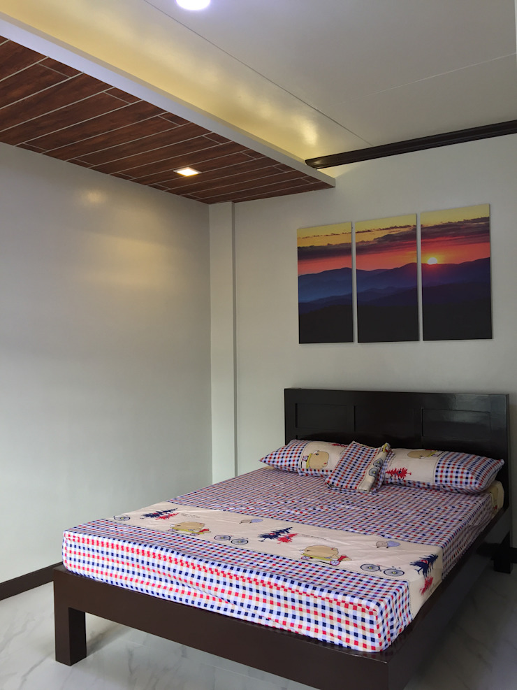 PRIVATE RESORT Minimalist bedroom by JGA INTERIORS Minimalist