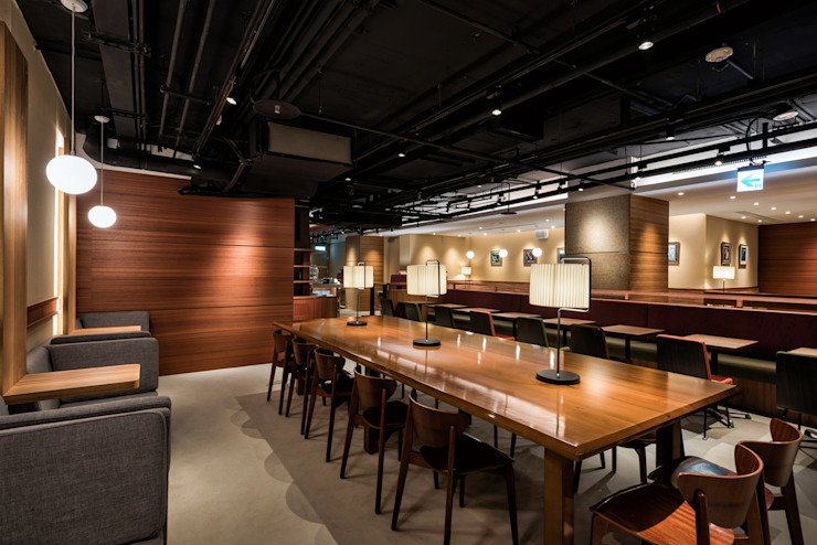 UCC上島咖啡-北車店 根據 青易國際設計 日式風、東方風