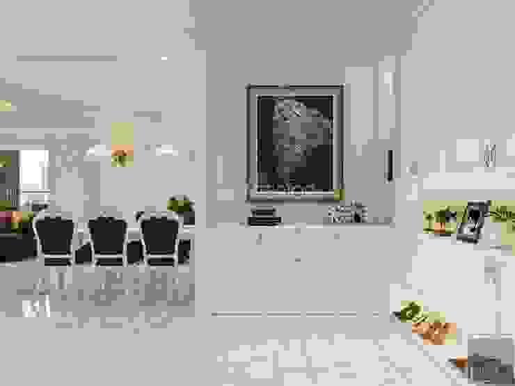 NGÔI NHÀ NUÔI DƯỠNG TÌNH YÊU – Thiết kế căn hộ ấn tượng tại Vinhomes Central Park bởi ICON INTERIOR Kinh điển
