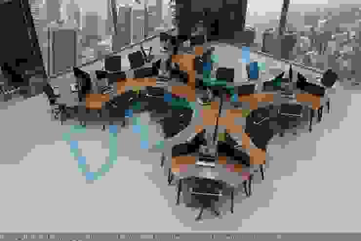 3d Ofis Mobilya workstation Tasarım sunum render hizmeti Desse Design Tasarım Uygulama ve Reklam Hizmetleri