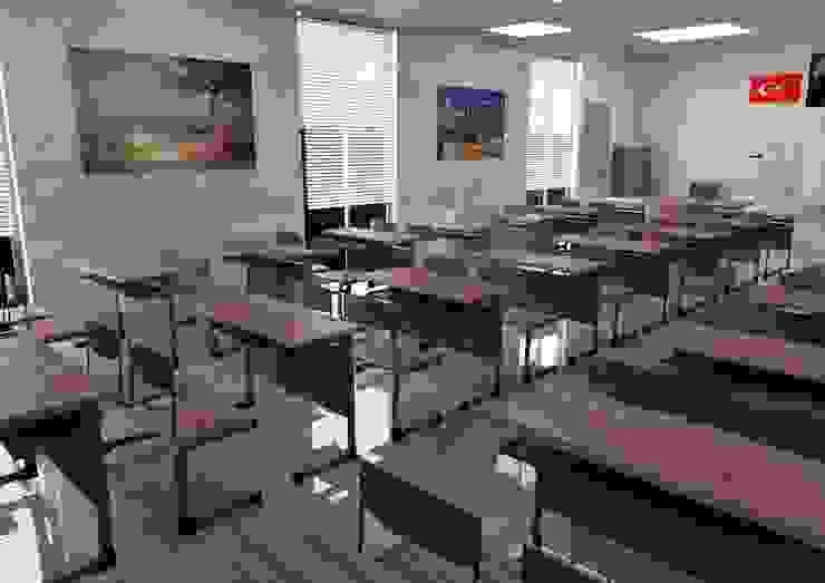 3d Etüt odası modelleme tasarım sunum hizmetleri Desse Design Tasarım Uygulama ve Reklam Hizmetleri