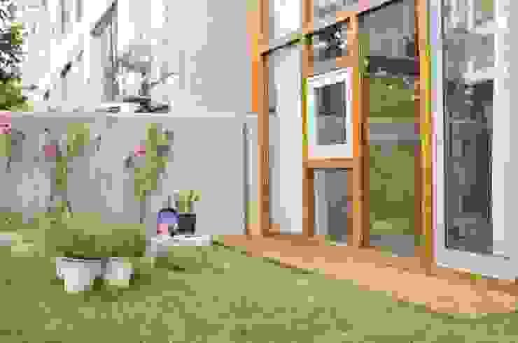 아파트 고쳐살기 스칸디나비아 정원 by BYHAND 북유럽