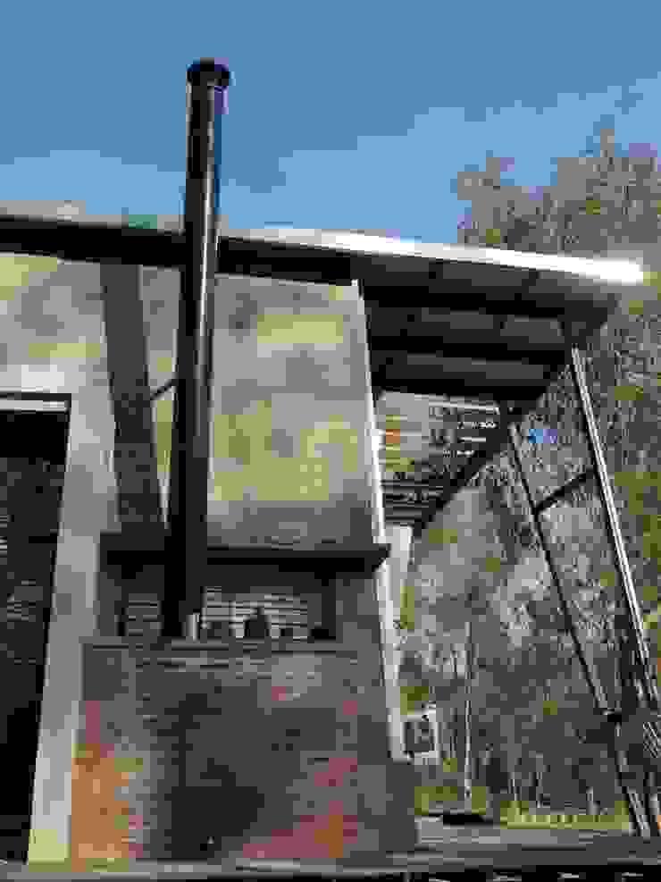 Casa A&P - Vista 8 Paredes y pisos modernos de Módulo 3 arquitectura Moderno Hierro/Acero
