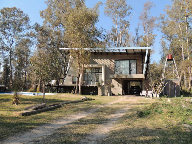 Casa A&P - Fachada de Módulo 3 arquitectura Moderno Hormigón