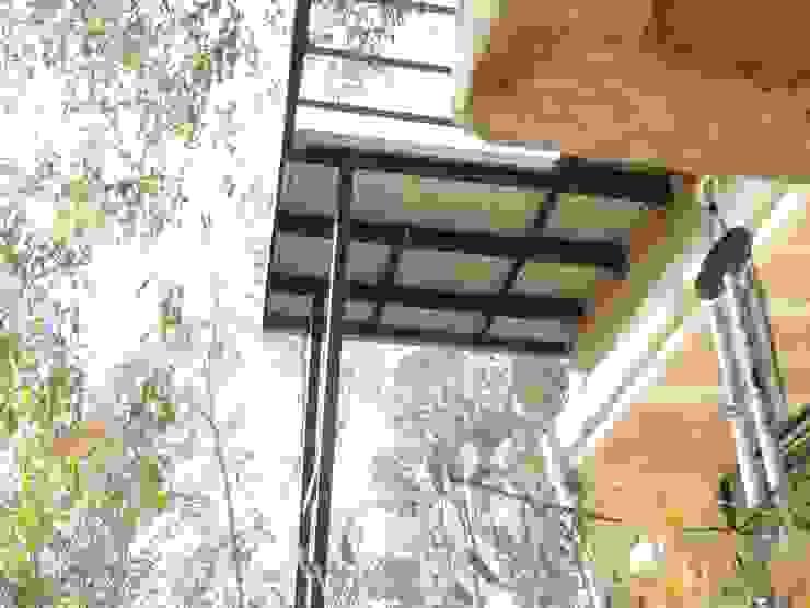 Casa A&P - Detalles materiales de Módulo 3 arquitectura Moderno Hierro/Acero